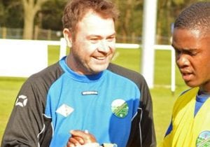 Ascot United FC manager Paul McGrotty.