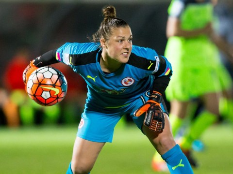 Reading goalkeeper Mary Earps joins Champions League finalists