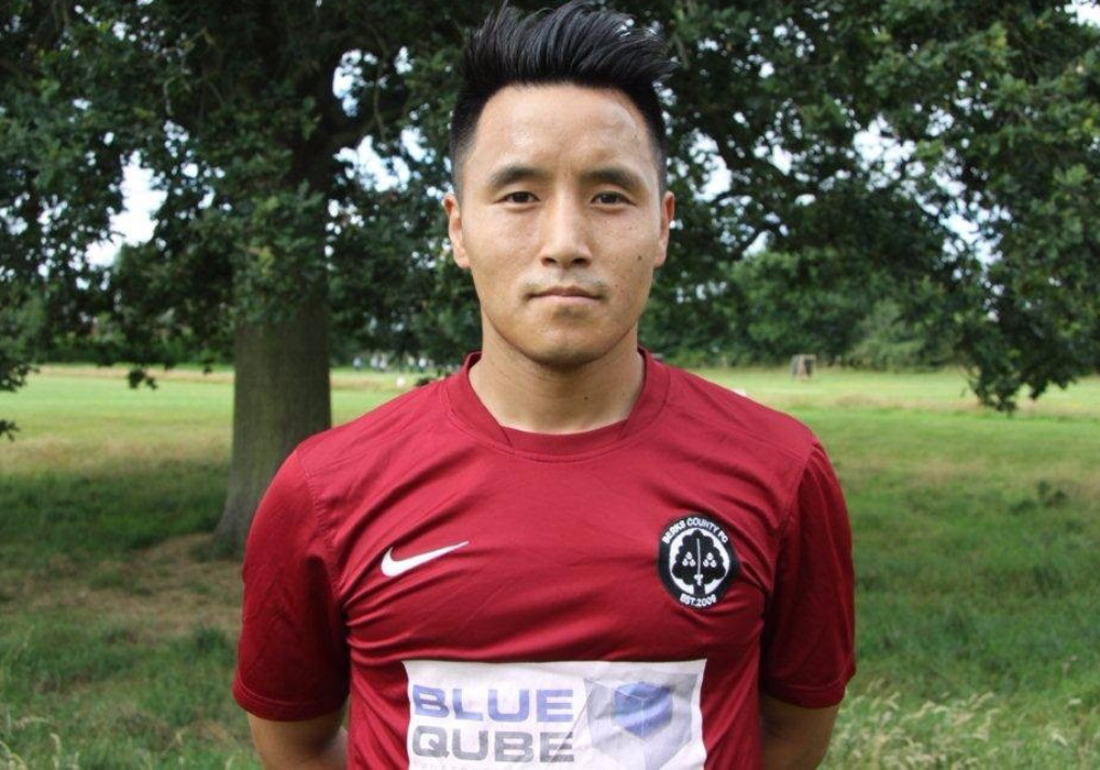 Watch Ridesh Gurung's cheeky back-heel in 18 goal Berks County rout