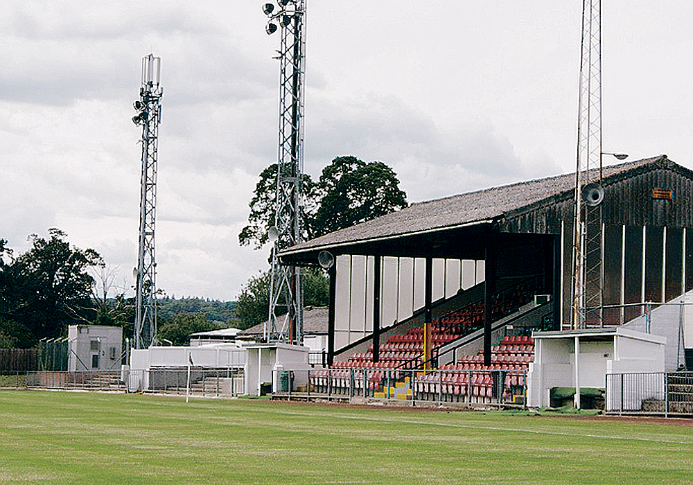 Windsor FC's Stag Meadow. Photo: Maidenhead Advertiser.