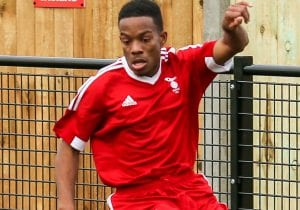 Bracknell Town's Kensley Maloney. Photo: Neil Graham.