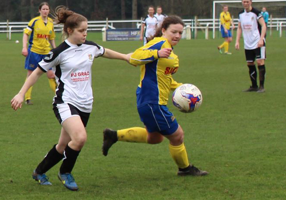 Amy Woollard nominated for FiB Young Player of the Year award