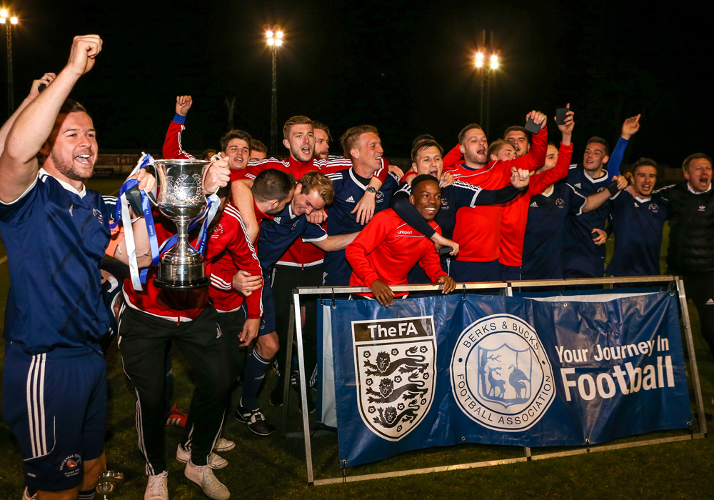 The expanded Senior Berks & Bucks County Cup has become the third big non league knockout competition