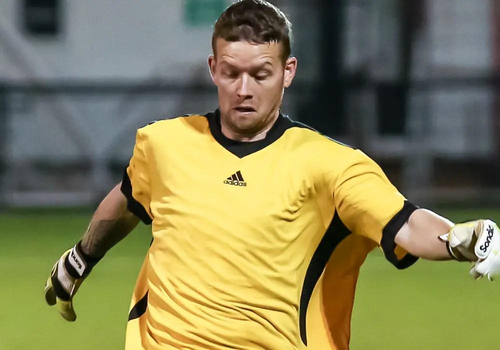 Headington Amateurs striker Luke Cuff. Photo: Neil Graham.