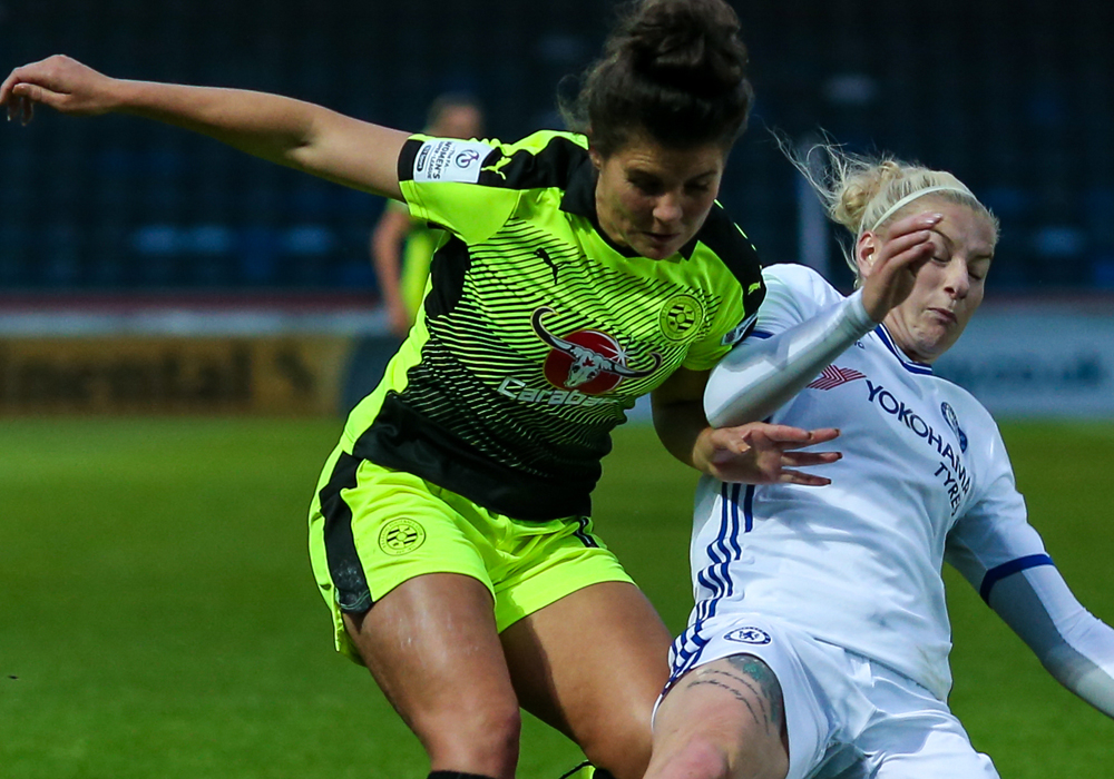 Reading Women hit for four by Chelsea Ladies