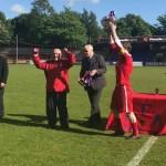 Bracknell Sunday League side FC Fernhill crowned Aldershot cup winners
