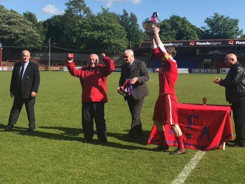 Bracknell Sunday League side FC Fernhill crowned Aldershot cup winners