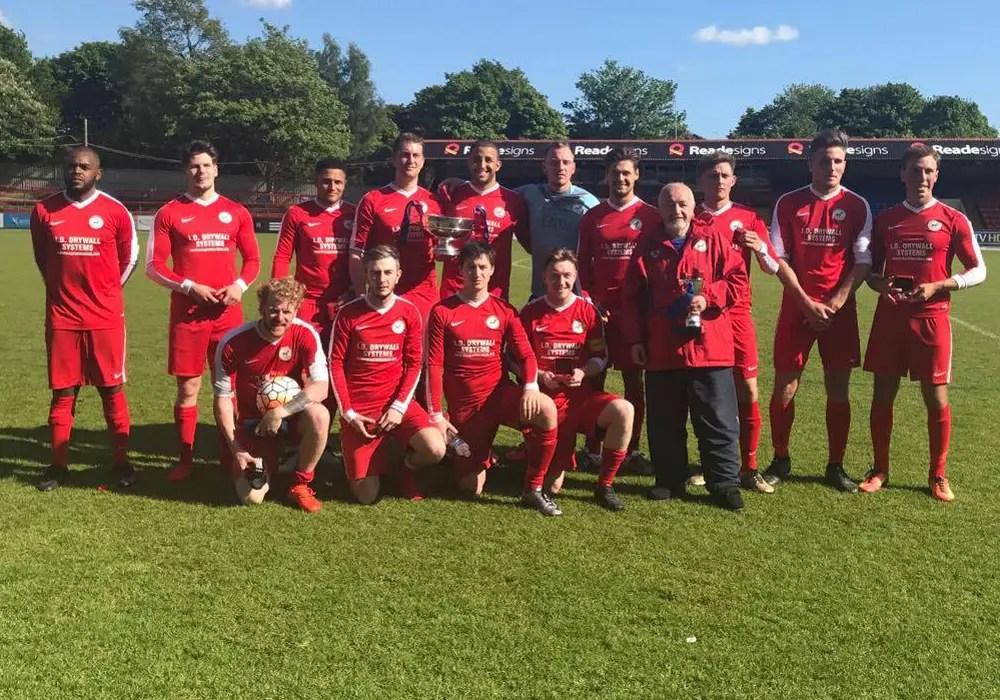 FC Fernhill in the Aldershot Senior Invitation Challenge Cup Final.