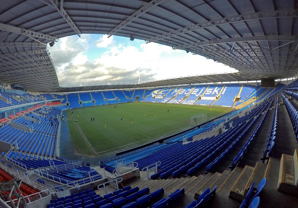 The Madejski Stadium in Reading. Photo: Colin Byers.