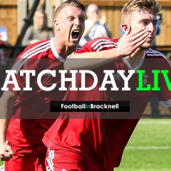 Live: Bracknell Town lead in Hellenic League Challenge Cup Final