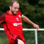 Binfield's James Knight in a very select band of Hellenic League players