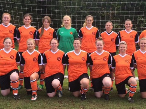 Wokingham pub backing town's new women's football team
