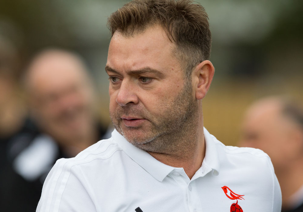 Bracknell Town joint manager Paul McGrotty. Photo: Richard Claypole.