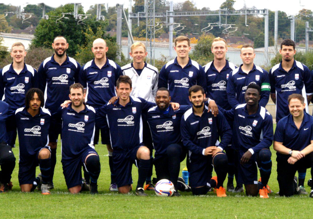 Thames Valley League in to the next round of the FA Inter League Cup and one step closer to Europe