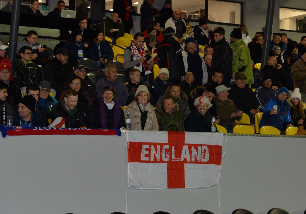 Pete and Cathy Barratt in the crowd. Photo: David Loveday.
