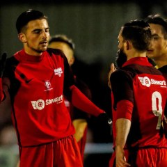 Binfield FC in Friday night derby and Lee Simpson takes first Berks County game