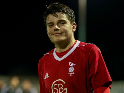 Seb Bowerman and Jamie McClurg send Bracknell Town on their way in County Cup