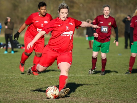 Wilson and Melia score for Binfield Ladies in Holyport defeat
