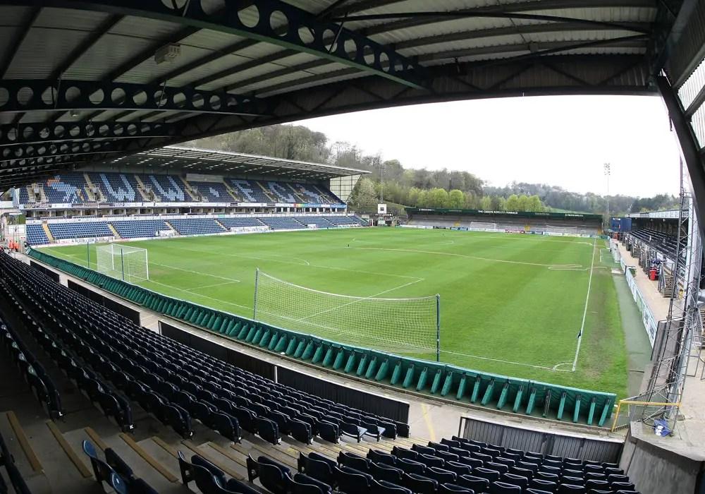 Wycombe Wanderers Adams Park.