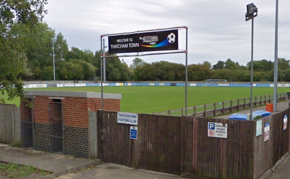 Ducks stop play: Thatcham Town's Hellenic League fixture interrupted