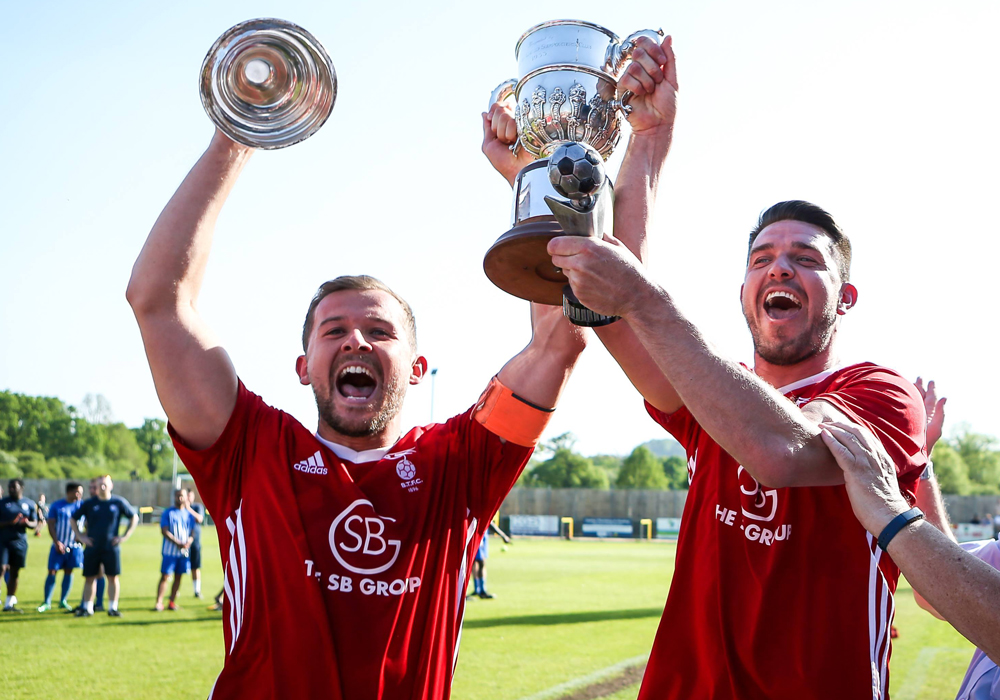 Bracknell Town retain the Hellenic League Challenge Cup at Stag Meadow