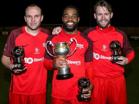 Binfield stun Thatcham Town to lift Hellenic League Floodlit Cup