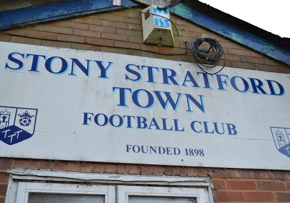 Stony Stratford Town. Photo: Dale James at www.sportsshots.org.uk