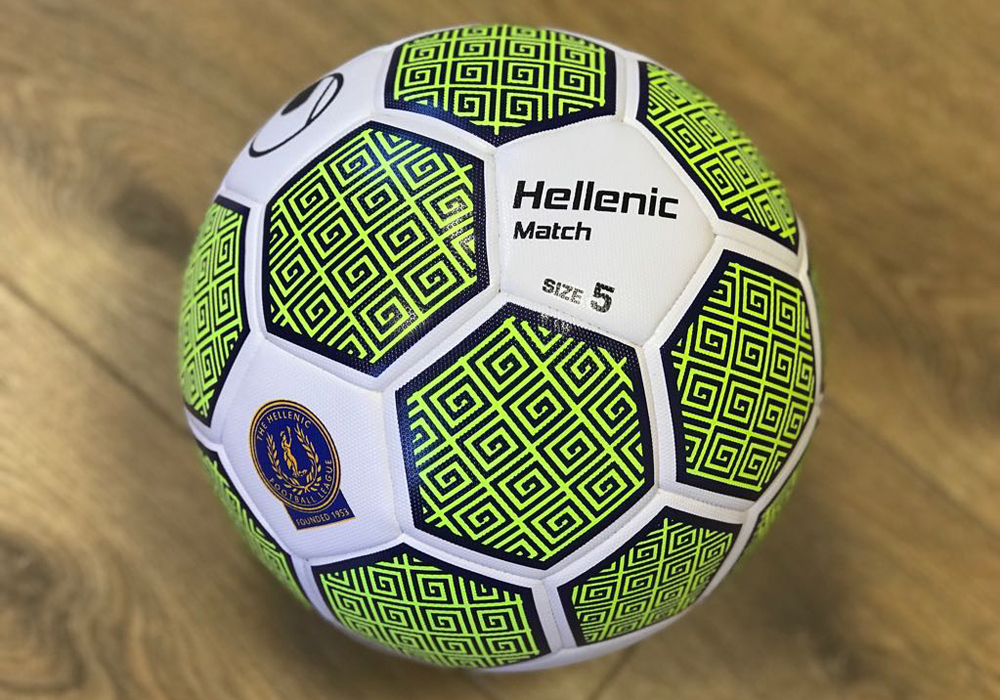 New Uhlsport Hellenic League match ball revealed