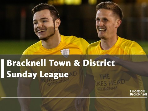Bracknell Sunday League back after Christmas break