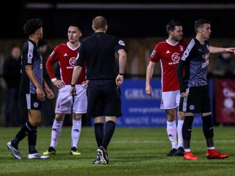 Why Reading FC's kit clashed with referee in Berks & Bucks County Cup