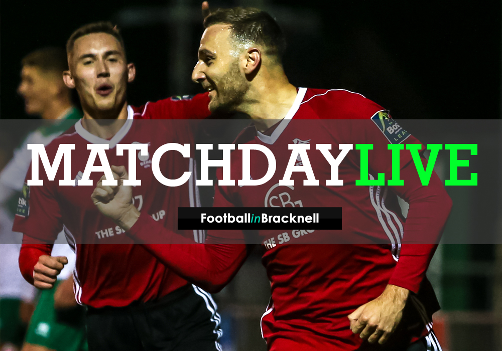 Listen live as Bracknell Town face Reading FC at Larges Lane