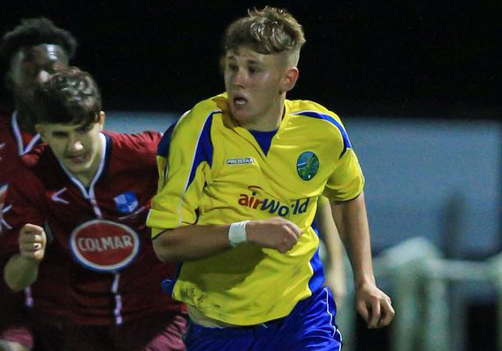 James Richardson up for Young Footballer of the Season award