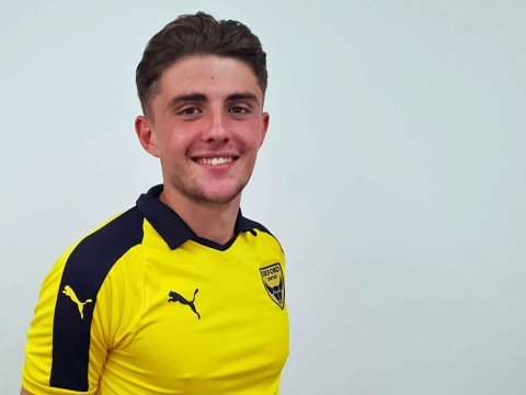 Bracknell Town sign Oxford United youngster