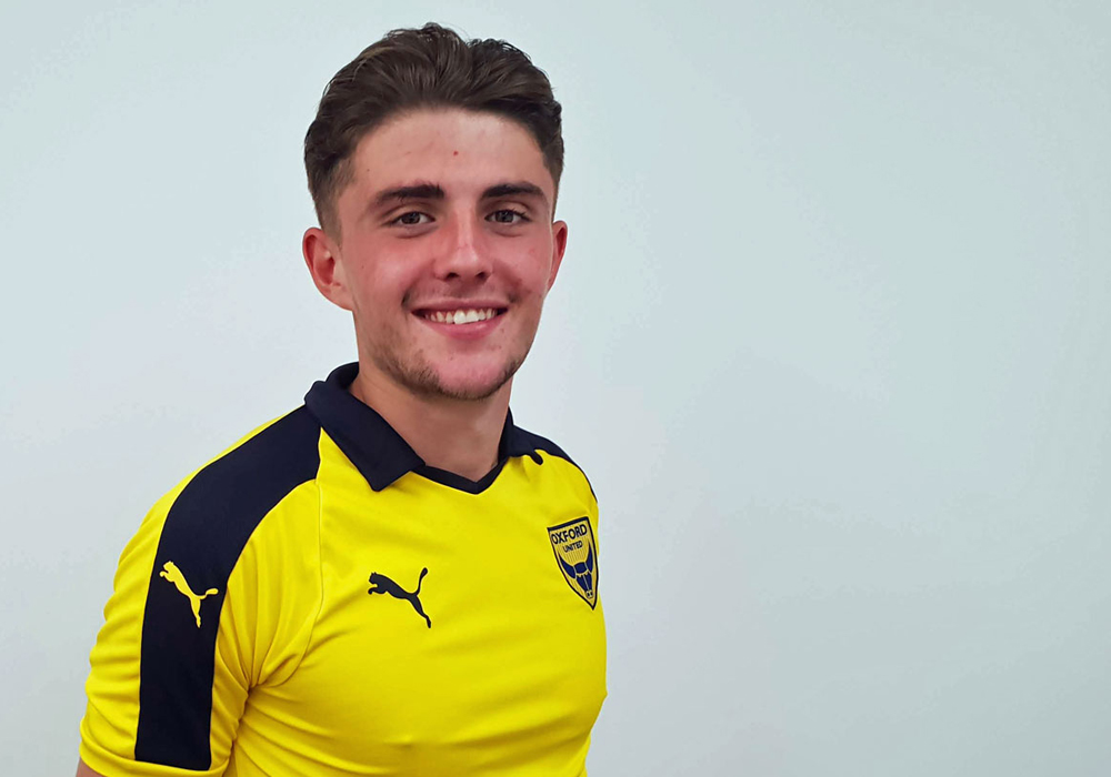 James Cowan. Photo supplied by Oxford United FC.