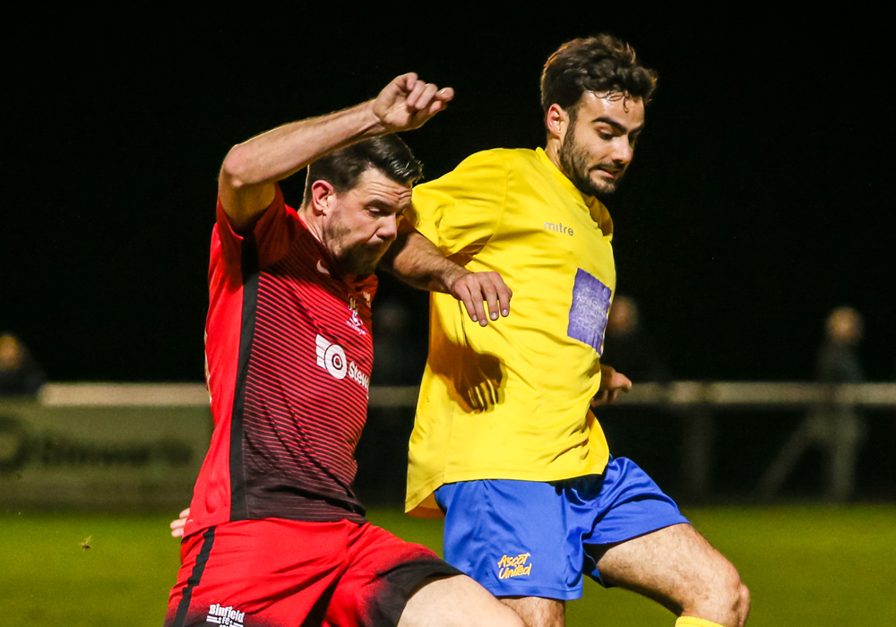 All square in Binfield v Ascot United Hellenic League tie