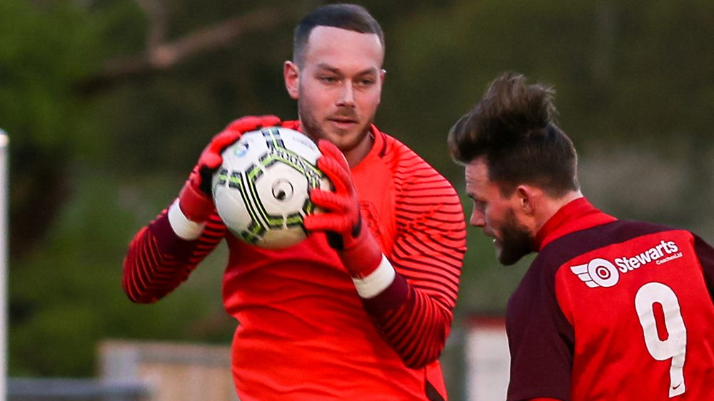 Bracknell Town sign goalkeeper Chris Rackley