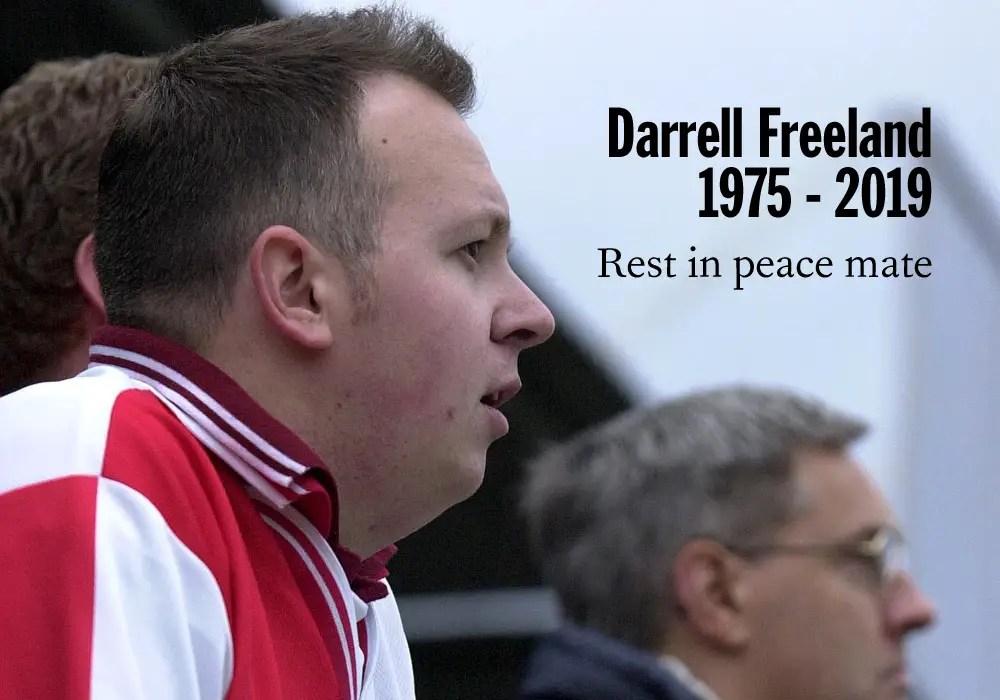 A tribute Darrell 'Dudley' Freeland