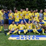 Ascot United lift Hellenic League Challenge Cup at Ardley