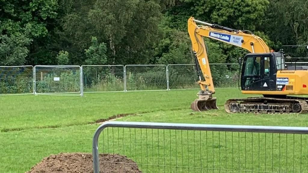 Work well underway at Ascot United 3G installation