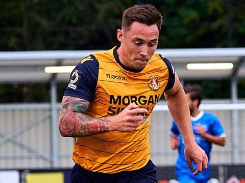 Joe Grant impresses Slough Town management in friendly fixture