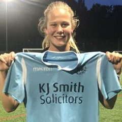 Freya Jenkins opens account as Woodley United start on South Coast