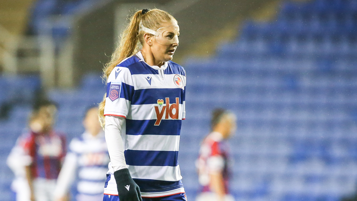 Five-star Lisa-Marie Utland on target for Reading FC Women