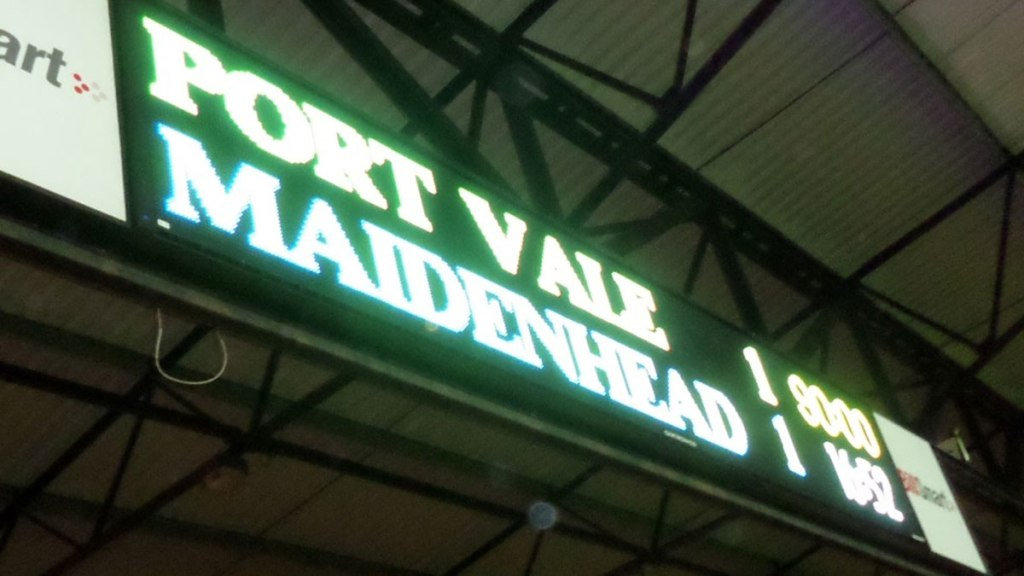 'Pandemonium' – Reliving Maidenhead United's FA Cup tie with Port Vale