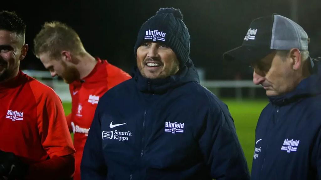 Binfield await FA Vase Fourth Qualifying Round draw