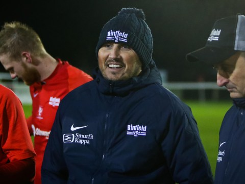 Binfield await FA Vase Fourth Qualifying Round draw