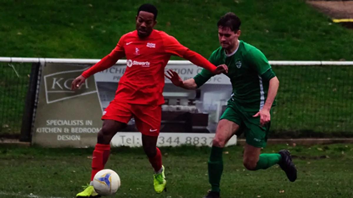 Kensley Maloney makes Binfield debut