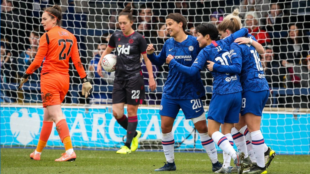 Reading FC Women downed by Sam Kerr's Chelsea