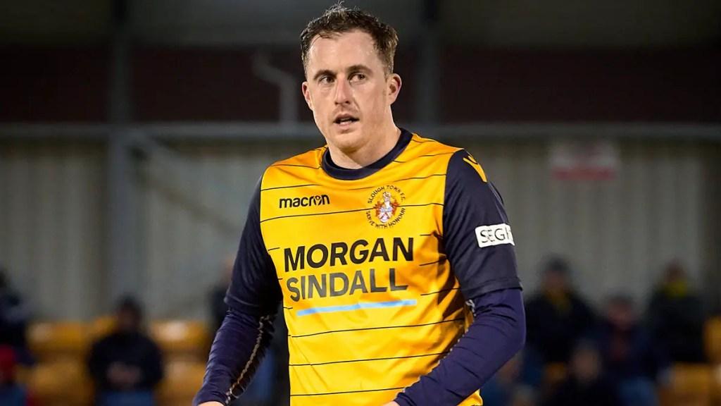 Slough Town midfielder Scott Davies is raising money for NHS