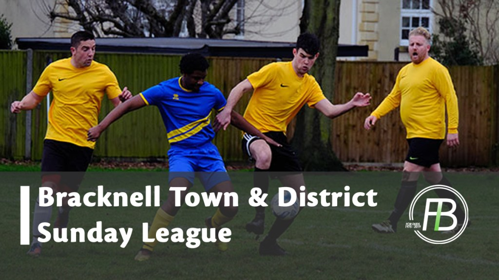 Bearwood build lead in Bracknell Sunday League and cup semi's complete