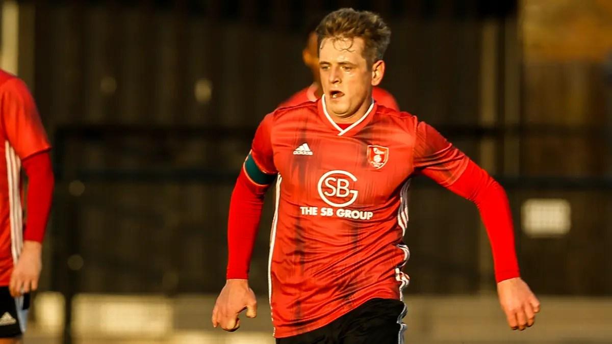 Captain Herbert wins it for Bracknell Town